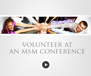 Become an MSM Volunteer