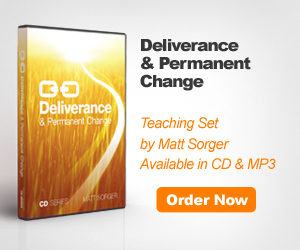 Deliverance & Permanent Change