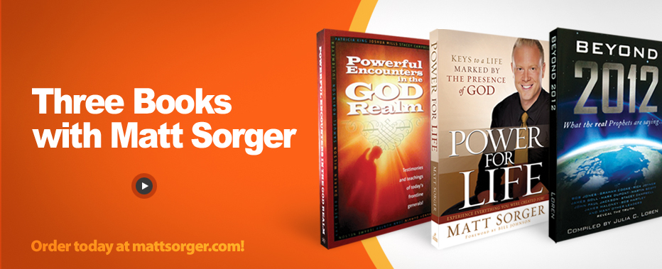 3 New Books with Matt Sorger