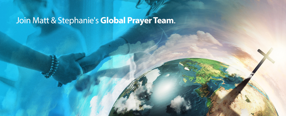 Join Matt's Global Prayer Team